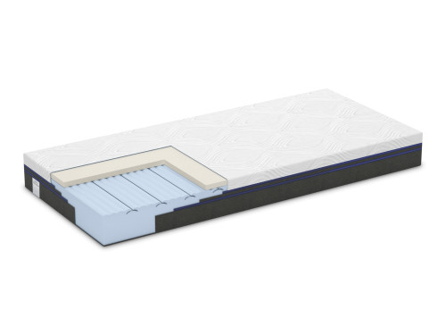 Saltea Platinum Deluxe 20 cm fermitate personalizata