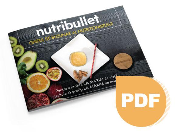 Nutribullet Nutritionist E-book