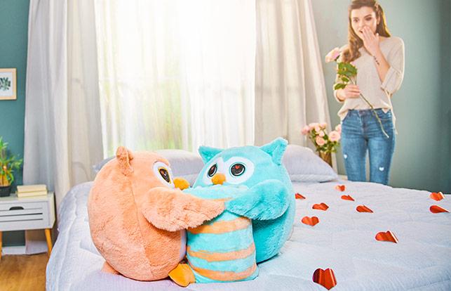 Emotion Owl Couple